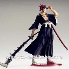 Hot saleing japanese anime figures,made by PVC