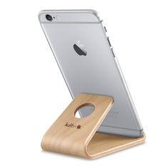 kalibri Holz Handy Halter für Smartphones: Amazon.de: Elektronik