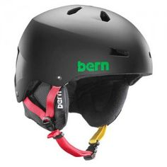 6b6751215 Bern Macon EPS Helmet in Matte Black Rasta – SM MD (54-57