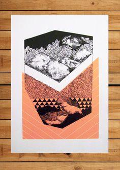 Silkscreened poster / Poster Serigrafato