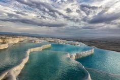 Pamukkale Thermal Pools in Turkey