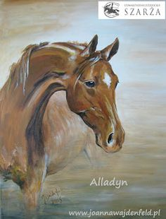 Pomysły plastyczne dla każdego - Joanna Wajdenfeld: Obrazy konie