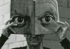 Charles Eames behind Pablo Picasso's eyes