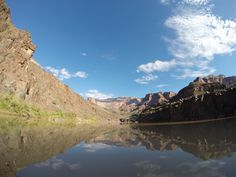 2014 Hatch Expedition rafting Colorado River thru Grand Canyon GoPro - reflections