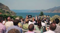 Bonitas Winery Summerland is a spectacular place for a wedding. Clifftop vineyards over Okanagan Lake formed the backdrop of this awesome wedding film. Wedding Film, Hotel Wedding, Wedding Ceremony, Reception, Vineyard, Backdrops, Dolores Park, Films, Couple