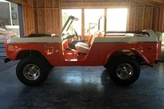 Learn more about Restored 1971 Stroppe Baja Ford Bronco on Bring a Trailer, the home of the best vintage and classic cars online. Classic Bronco, Classic Ford Broncos, Ford Classic Cars, Old Ford Bronco, Early Bronco, Old Fords, Sweet Cars, Vintage Trucks, Custom Trucks