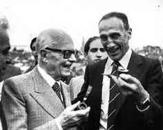 il presidente Pertini con Bearzot