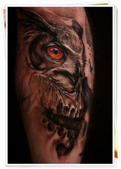owl tattoo 8