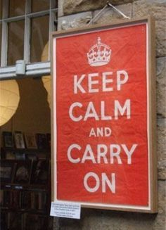 The story of 'Keep Calm and Carry On'.  Watch the video here http://www.wimp.com/keepcalm/