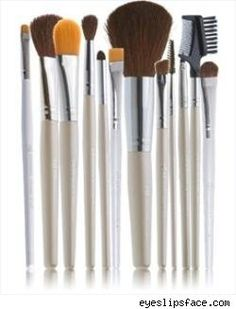 E.L.F. make up Brushes..they are great brushes..they last a long time and the best part is they are only 1$ at Target..