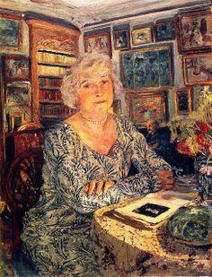 Jean Edouard Vuillard - Lucy Hessel Reading 1924