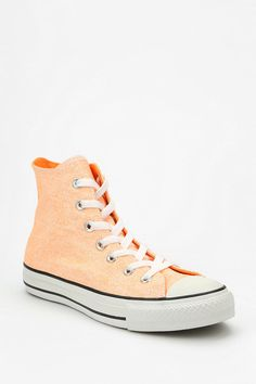 Converse Chuck Taylor All Star Washed Neon High-Top Sneaker #urbanoutfitters