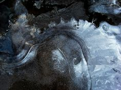 Glace bleue 10 - Blue Ice 10