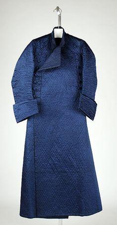 Banyan, ca. 1760, Chinese, silk, linen (c) Metropolitan Museum of Art