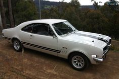 1969 Holden Monaro GTS Bathurst HT - Like this. Like white cars and don't recall ever seeing one in white. S
