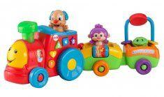 "Fisher Price - Le petit Train de Puppy Eveil - Mattel - Babies""R""Us Baby Activity Toys, Infant Activities, Toys R Us, New Toys, Toddler Toys, Baby Toys, Kids Toys, Brinquedos Fisher Price, Bb Reborn"