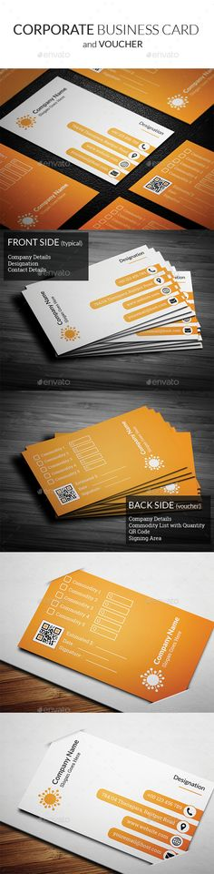 Corporate Business Card Template PSD #design Download: http://graphicriver.net/item/corporate-business-card-vol2/13395332?ref=ksioks