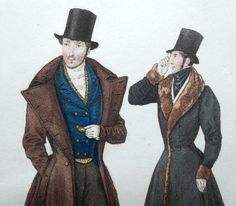 Romantic Period Clothing | ... La Mode Late Georgian Romantic Era Fashion Gavarni MEN Monocle (199