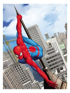 Poster Spider Man Empire State Building