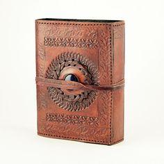 Lapis Stone Wrap Leather Journal