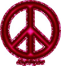 Red Pink Peace