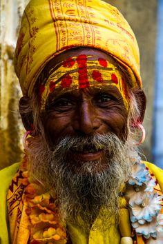 Sadhu oftewel heilige man.