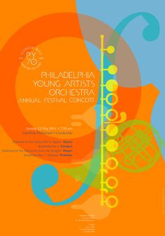 Philadelphia Young Artists Orchestra Annual Festival Concert: paone design associates