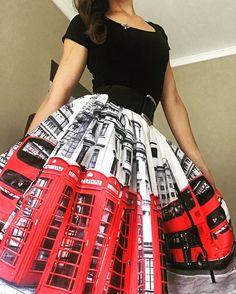 Rainy day? No problem, I'll dress for London . #ootd #fashion #fashionista #shopping #chicwish #dressup #skirt #london #phonebooth #bus #red #blackandwhite #doubledecker #fun #rainyday #uk #fire #photoshoot