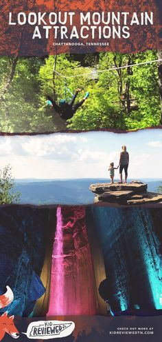 Discover the beauty of Chattanooga at three world-famous natural attractions including Rock City, Ruby Falls, and the Incline Railway. Oh The Places You'll Go, Places To Travel, Places To Visit, Rv Travel, Best Vacations, Vacation Destinations, Vacation Spots, Gatlinburg Tennessee, Tennessee Vacation