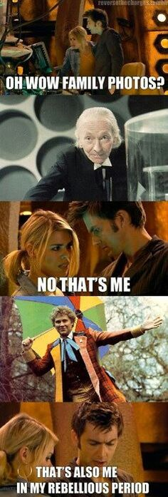 The Doctor and Rose