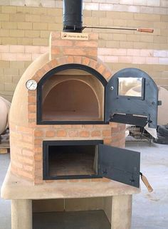 Hornos de barro Hornos de barro - Outdoor Kitchen Bars about you searching for. Pizza Oven Outdoor, Outdoor Kitchen Bars, Backyard Kitchen, Outdoor Kitchen Design, Outdoor Cooking, Outdoor Kitchens, Patio Design, Outdoor Rooms, Outdoor Living