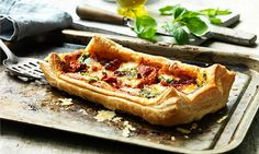 Put veggies front and center with cheesy Thanksgiving appetizer tarts