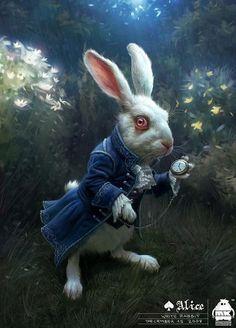 "Concept Art from ""Alice in Wonderland"" x Imaginism Studios"