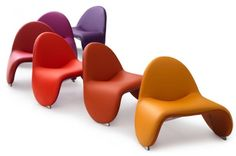 comfortable-contemporary-leather-armchairs