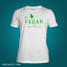 Vegans Represent! This T-shirt is ready to be shipped to your door ASAP! ~ FAIR-TRADE ~ VEGAN ~ SUSTAINABLE ~ ECO-FRIENDLY ~ CARBON-NEUTRAL ~ ORGANIC ~