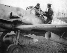 """Messerschmitt Bf 109 G-6 10./JG5 """"White 15"""" Fritz Müller, Bad Lippspringe 1944 6 заметок"""