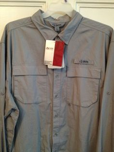Guide Series Shirt Mens Size 3XL Tall 3XLT Gray NWT Mesh Fishing Vented Sunspray. Gander Mountain brand New with tags.