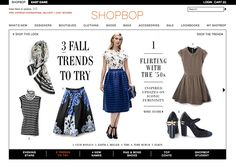 A round up of the best online shopping sites for clothes, shoes & accessories! A full range from deals & steals to designer labels. Shopping websites for...