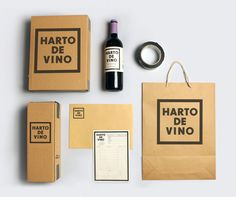Harto De Vino (Student Project) on Packaging of the World - Creative Package Design Gallery Clever Packaging, Retail Packaging, Brand Packaging, Packaging Ideas, Design Thinking Process, Branding, Identity Design, Visual Identity, Design System