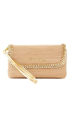 The Crush Clutch is a foldover straw clutch that goes with EVERYTHING. With interior zip closure and card slides, this is the perfect clutch to take out for a night on the town.