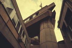 Hydrometeorological Institute / Skoplje, Macedonia  #socialist #brutalism #architecture