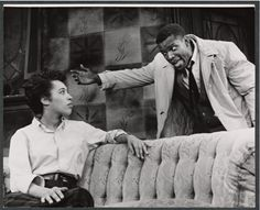 """An image from the original 1959 Broadway run of Lorraine Hansberry's iconic play, """"A Raisin in the Sun."""""""