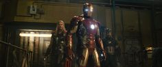 The Avengers: Age Of Ultron: Iron Man, Thor & Captain America - Cosmic Book News