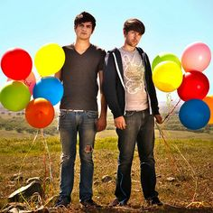 Smosh guys. I wonder if Ian was really for serious angry at Anthony... *anthonysosexy* LoL!