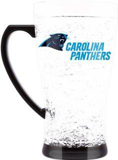 ONE CAROLINA PANTHERS 16oz FLARED CRYSTAL FREEZER  MUG FROM DUCKHOUSE #DuckhouseSports #CarolinaPanthers