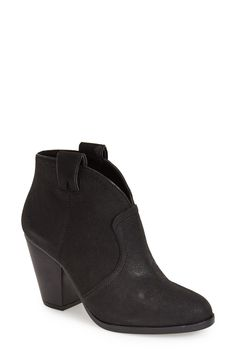 Vince Camuto 'Hillsy' Almond Toe Ankle Bootie (Women)