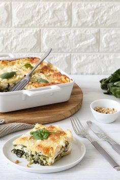 Mangold-Spinat-Lasagne Rezept - Vegetarische Lasagne mit Mangold, Spinat und Ziegenkäse mit selbst gemachten Lasagneblättern. // chard-spinach-lasagne recipe - quick and easy to make vegetarian lasagne with chard, spinach and goat cheese. // Sweets & Lifestyle® #lasagne #mangold #spinat #rezept #mangoldspinatlasagne #vegetarian #vegetarianrecipes #recipe #chardspinachlasagne #sweetsandlifestyle