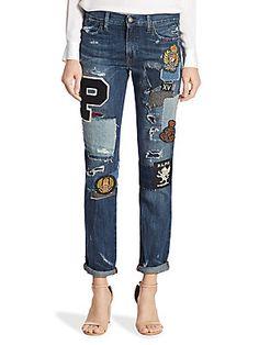 2390b91d0 83 Best Boyfriend jeans images | Boyfriend Jeans, Ripped denim jeans ...