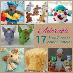 TMK crochet: Free Crochet Pattern Round-Up: Animals