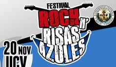Este miércoles la UCV rockeará con la primera edición del Festival Rock N' Risas Azules @RockRisasAzules